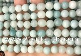 CAM1723 15.5 inches 10mm round amazonite beads wholesale