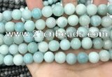 CAM1733 15.5 inches 10mm round amazonite gemstone beads