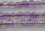 CAN105 15.5 inches 3.5mm faceted round ametrine gemstone beads