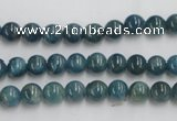 CAP202 15.5 inches 6mm round natural apatite gemstone beads