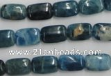 CAP212 15.5 inches 8*12mm rectangle natural apatite gemstone beads