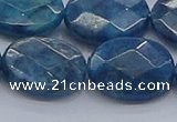 CAP393 15.5 inches 15*20mm faceted oval apatite gemstone beads
