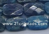 CAP397 15.5 inches 12*16mm faceted rectangle apatite gemstone beads