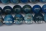 CAP412 15.5 inches 8mm round apatite gemstone beads wholesale