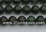 CAP511 15.5 inches 6mm round green apatite gemstone beads