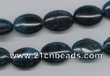 CAP63 15.5 inches 10*14mm oval dyed apatite gemstone beads wholesale