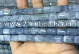 CAQ918 15.5 inches 8*12mm tube aquamarine gemstone beads