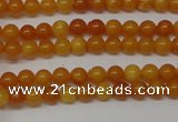 CAR100 15.5 inches 3mm round natural amber beads