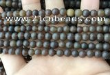CAR216 15.5 inches 6mm round natural amber beads wholesale