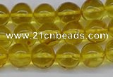 CAR556 15.5 inches 6mm - 7mm round natural amber beads wholesale