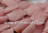 CAS24 15.5 inches 14*25mm marquise pink angel skin gemstone beads