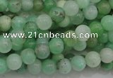 CAU302 15.5 inches 6mm round Australia chrysoprase beads wholesale