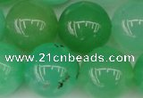 CAU355 15.5 inches 14mm round Australia chrysoprase beads
