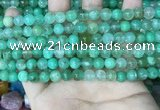 CAU441 15.5 inches 7.5mm - 8mm round Australia chrysoprase beads