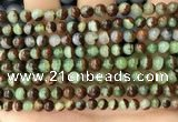 CAU451 15.5 inches 5mm - 5.5mm round Australia chrysoprase beads