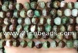 CAU454 15.5 inches 8mm - 9mm round Australia chrysoprase beads