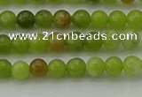 CAU500 15.5 inches 4mm round Chinese chrysoprase beads wholesale