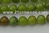 CAU501 15.5 inches 6mm round Chinese chrysoprase beads wholesale