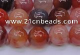 CBC405 15.5 inches 14mm A grade round orange chalcedony beads