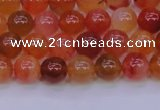 CBC411 15.5 inches 6mm AA grade round orange chalcedony beads