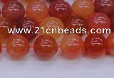 CBC414 15.5 inches 12mm AA grade round orange chalcedony beads