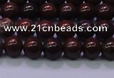 CBD300 15.5 inches 4mm round brecciated jasper beads wholesale