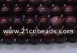 CBD301 15.5 inches 6mm round brecciated jasper beads wholesale