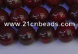 CBD354 15.5 inches 12mm round poppy jasper beads wholesale