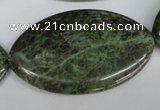 CBG34 15.5 inches 30*50mm marquise bronze green gemstone beads