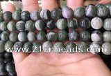 CBJ708 15.5 inches 10mm round green jade beads wholesale