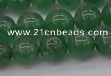 CBQ498 15.5 inches 10mm round green strawberry quartz beads
