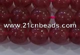 CBQ623 15.5 inches 10mm round strawberry quartz beads wholesale