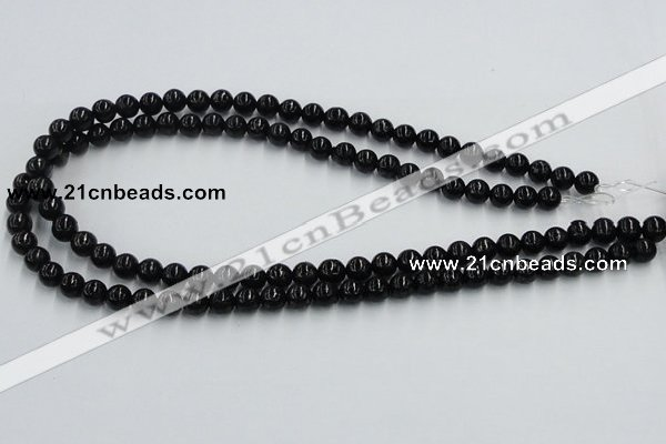 CBT01 16 inches 8mm round natural biotite beads wholesale