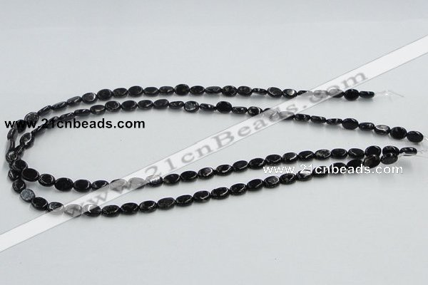 CBT08 16 inches 6*8mm oval natural biotite beads wholesale