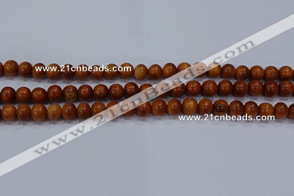 CBW502 15.5 inches 8mm round bayong wood beads wholesale