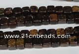 CBZ205 15.5 inches 6*6mm cube bronzite gemstone beads