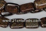 CBZ237 15.5 inches 13*18mm rectangle bronzite gemstone beads