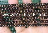 CBZ618 15.5 inches 4mm round bronzite beads wholesale
