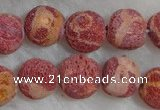 CCB70 16 inches 10mm round sponge coral beads Wholesale