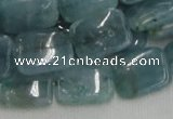 CCE08 15.5 inches 15*20mm rectangle blue celestite gemstone beads