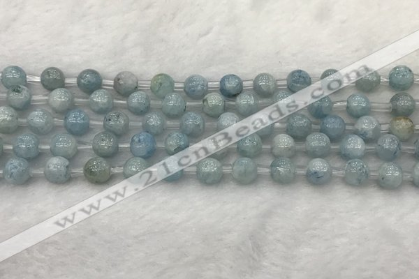 CCE61 15.5 inches 6mm round celestite gemstone beads wholesale