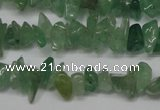 CCH200 34 inches 3*5mm green aventurine chips gemstone beads wholesale