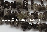 CCH208 34 inches 3*5mm smoky quartz chips gemstone beads wholesale
