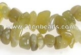 CCH23 35 inches Korea jade chips gemstone beads wholesale