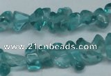 CCH254 34 inches 5*8mm synthetic crystal chips beads wholesale