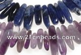 CCH34 16 inches purple & blue sodalite chips beads wholesale