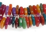 CCH44 32 inches multi color shell chips beads wholesale