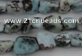 CCH620 15.5 inches 6*8mm - 10*14mm larimar chips gemstone beads