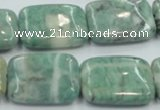 CCJ53 15.5 inches 18*25mm rectangle African jade gemstone beads