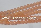 CCN02 15.5 inches 4mm round candy jade beads wholesale